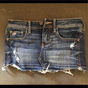 Hollister Denim Skirt